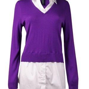 Ralph Lauren - sweater shirt combo 3x